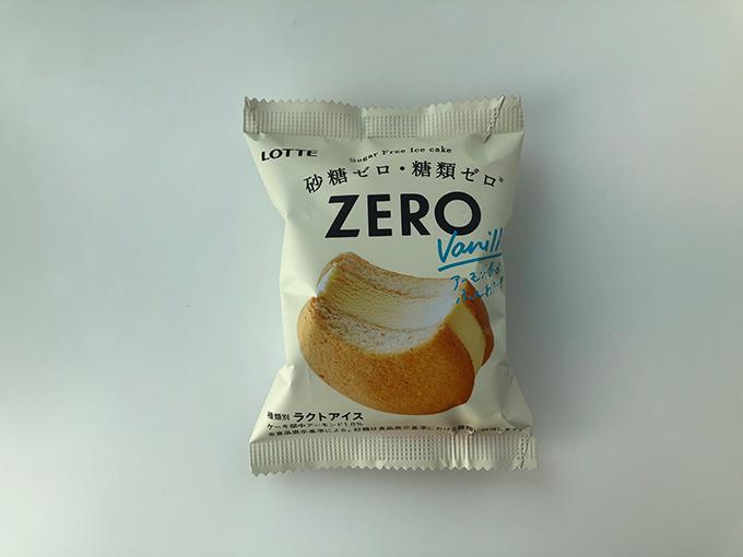 ロッテのアイスケーキ「ZERO」