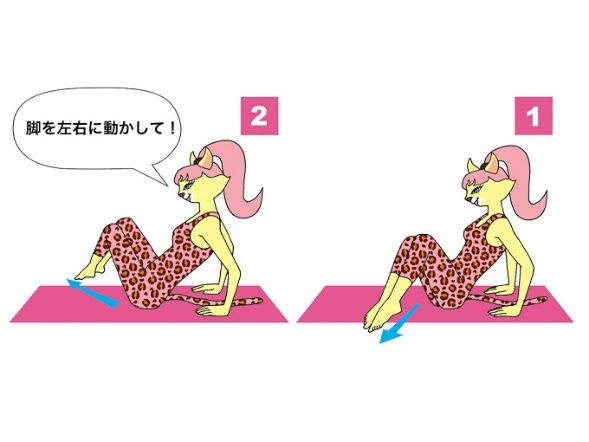 腹斜サイドトゥーサイド