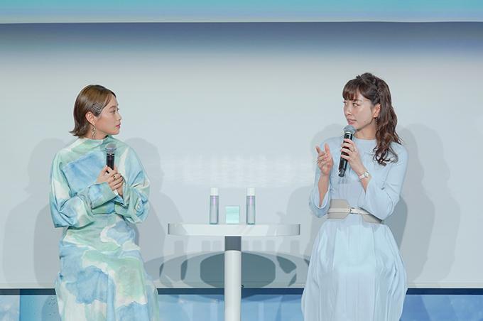 高橋愛さんと石井美保さんのトーク