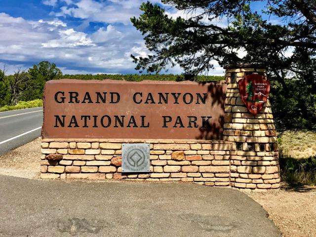 グランドキャニオン国立公園の入り口