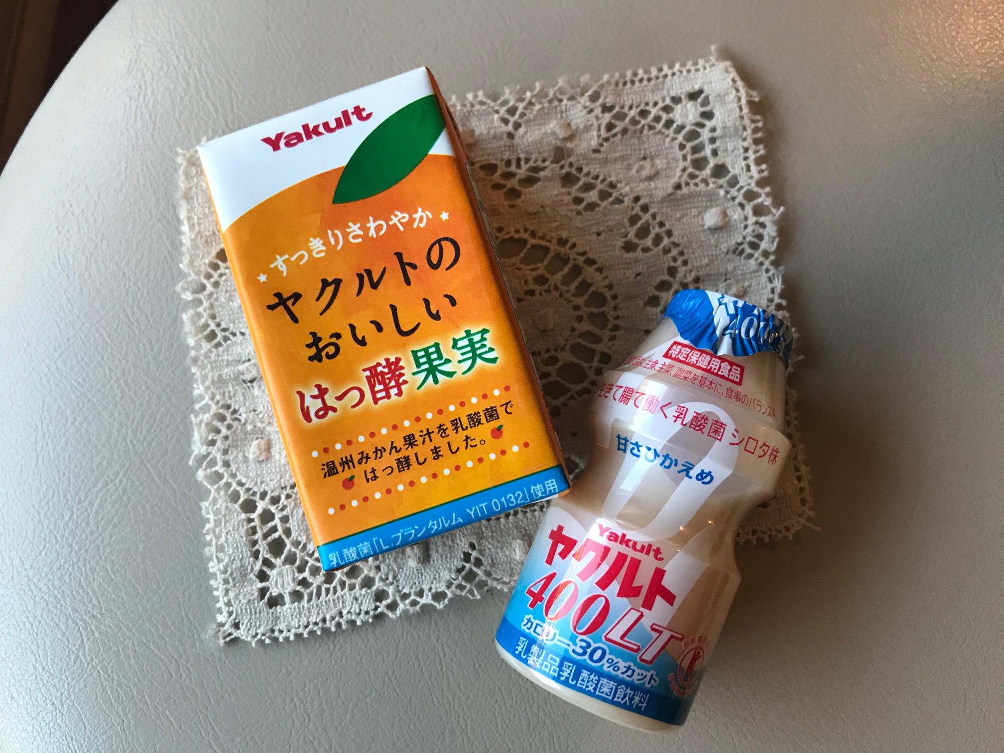 発酵果実とヤクルト400