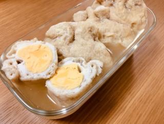 しっとり♪ うまみをたっぷり含んだ「卵巾着のコンソメ煮」#今日の作り置き