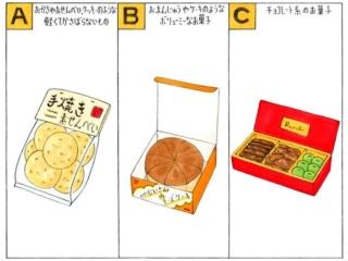 いろいろなお菓子のイラスト