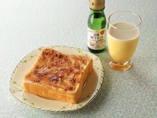 MCTオイルを使った朝食シーン