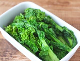 3分蒸すだけのシンプル副菜! 春ならではの「菜の花のオイル蒸し」 #今日の作り置き