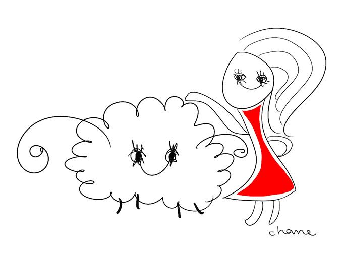 牡羊座のイラスト