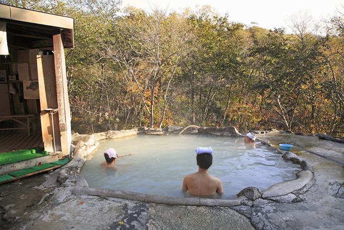 北海道の熊の湯