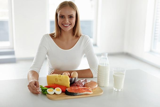 肉、魚、卵などのたんぱく質が豊富な食材