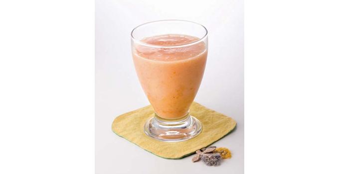 桃とアプリコットのジュース