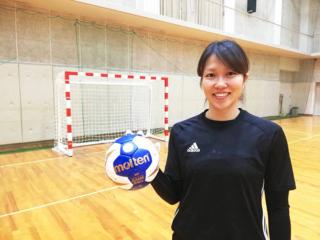 ハンドボール女子日本代表・塩田沙代選手