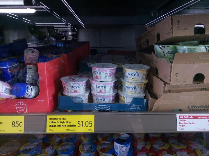 スーパーのALDIではこんなにお安く売られています。