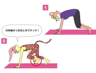 1日1分! お腹周りを絞る体幹トレーニングで美腹を作る