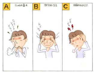 【心理テスト】花粉症の季節です。あなたがいちばんツラいと思う症状はどれ?