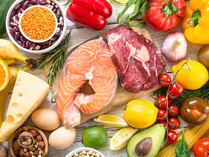 食物繊維やビタミンが豊富な野菜や魚