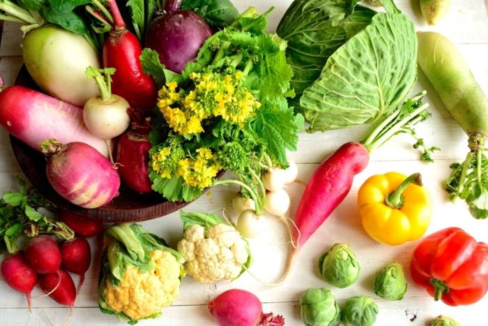 あざやかな春野菜