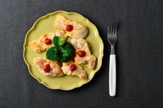 「鶏もも肉のピカタ」の画像