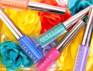 <LUNASOL(ルナソル)>2020夏コスメ:ネオンカラーが鮮やかなアイライナー「フラッシュクリエイター」全5色をレビュー