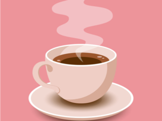カップに注がれたコーヒー
