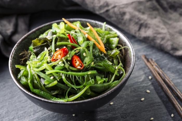 海藻サラダの画像