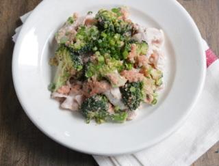 ブロッコリーで腸活! 箸が止まらない、お墨つきレシピ「豚しゃぶとブロッコリーの明太和え」