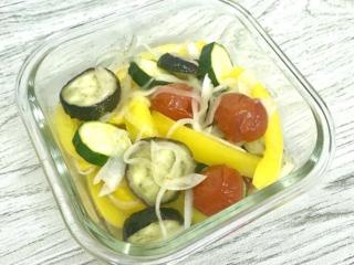 レモン汁でさっぱり♪「グリル野菜のマリネ」 #今日の作り置き
