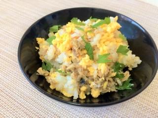 たんぱく質と食物繊維をプラス!「さばとふんわり卵の混ぜご飯」 #今日の作り置き