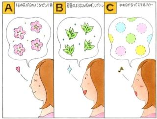 【心理テスト】あなたが思い浮かべる「春」のイメージカラーといえば?