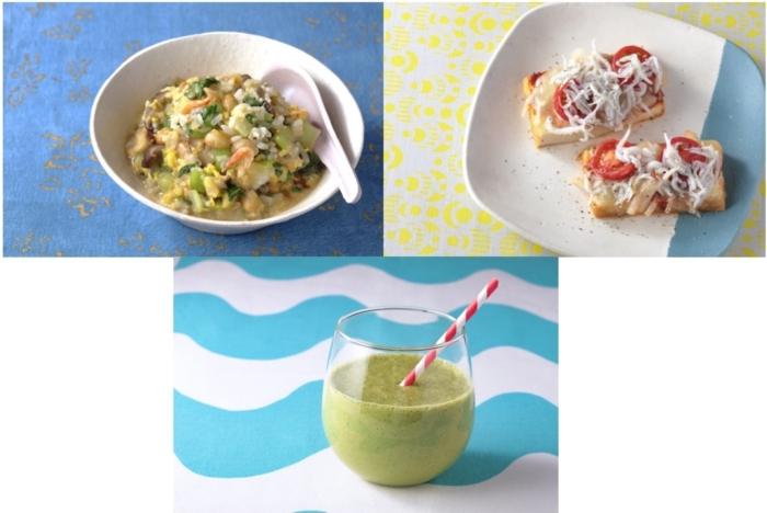 女性ホルモンの働きに役たつレシピ3つの画像