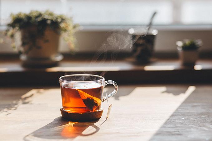 カップに入った紅茶