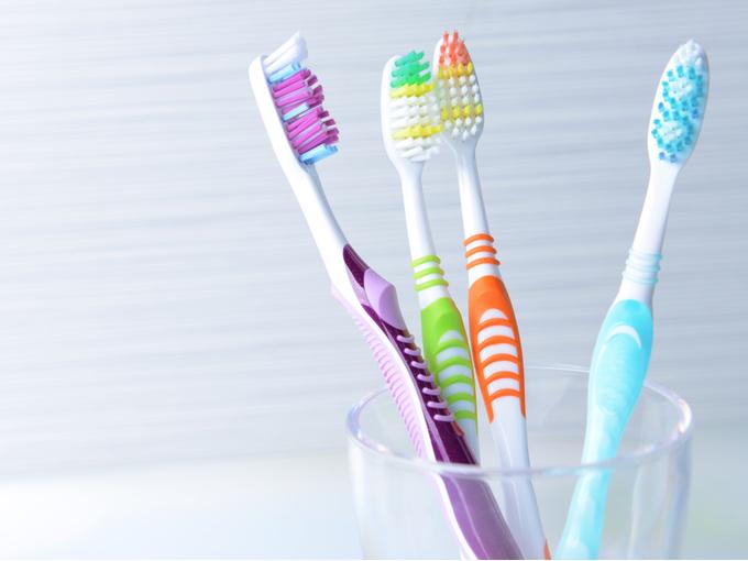 複数の歯ブラシ