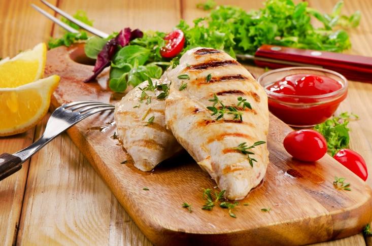 鶏肉料理の画像