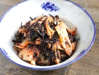 キムチで腸活! 低カロリーで乳酸菌も豊富な「ひじきのキムチ和え」
