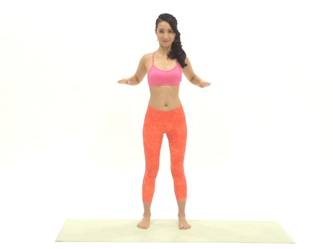 肩甲骨開閉トレーニング2