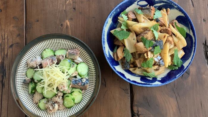 さば缶の無限常備菜レシピ!野菜と食べる、箸が止まらない2選