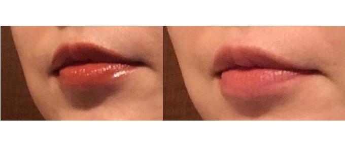 口元の画像