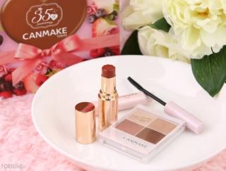 CANMAKE(キャンメイク)人気アイテムをセットにした「35thコフレ」が5月下旬〜限定発売!ケーキのようなかわいいBOXに入って登場♡