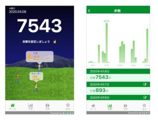 競争心に火をつけてハリのある毎日に♡ アプリ「今の順位がわかる歩数計~からだよりWALK~」で楽しくウォーキング♪