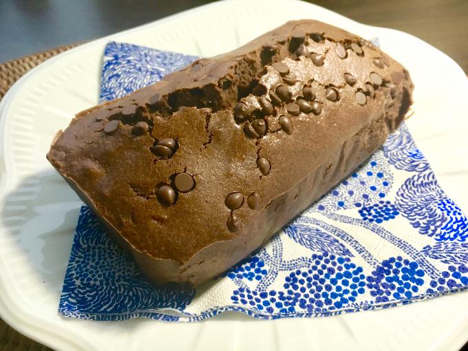 米粉のココアパウンドケーキ