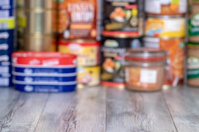 缶詰などの備蓄品