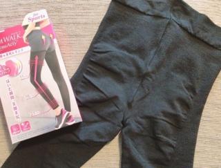 ほどよいフィット感が最高! スリムウォークの美脚&美尻レギンスを試してみた  #Omezaトーク