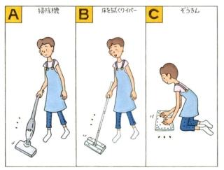 【心理テスト】今日は家の片づけをします。あなたが使った掃除道具は?
