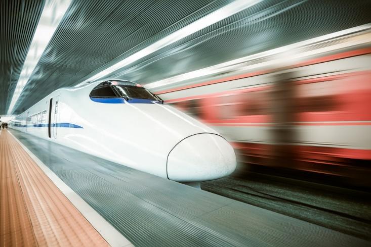 高速列車の画像