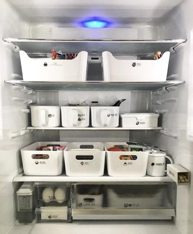 梶ヶ谷さんの家の冷蔵庫