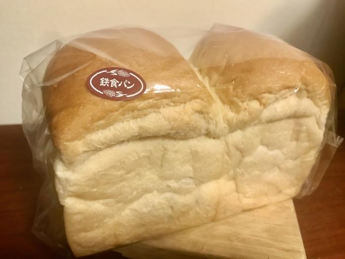 一本堂の鉄食パン