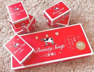 お肌がしっとりモチモチに♡ 牛乳石けん「赤箱」を使ってみた #Omezaトーク