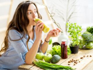 朝食の30分前に飲むと効果大!  管理栄養士考案の「野菜ジュースダイエット」レシピ