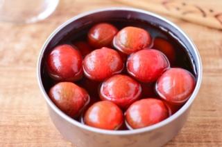 ミニトマトのめんつゆ漬け