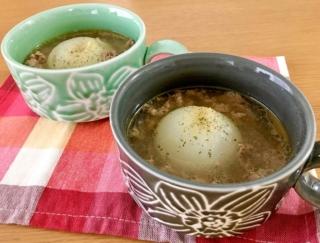 血液サラサラ&デトックス効果に期待♪「まるごと玉ねぎと牛肉のスープ」 #今日の作り置き