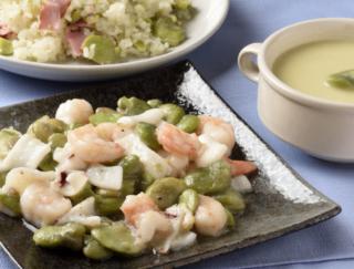 [そら豆の簡単レシピ]焼き&茹でに飽きたら炒め物や混ぜご飯に