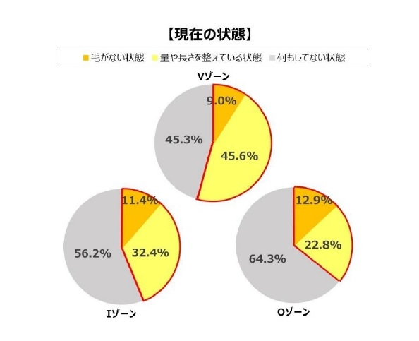 VIOケア現在の状態グラフ画像
